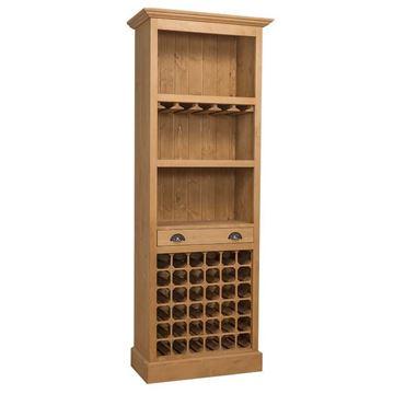 Mobilă bar lemn masiv 78 cm natur Tristan