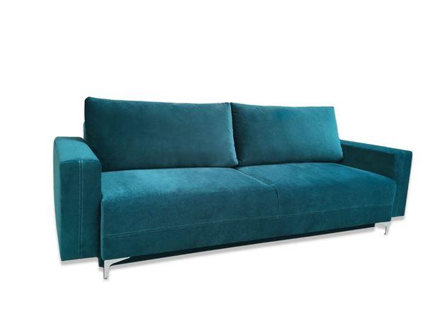 Canapea extensibilă 3 locuri turcoaz Marsylia