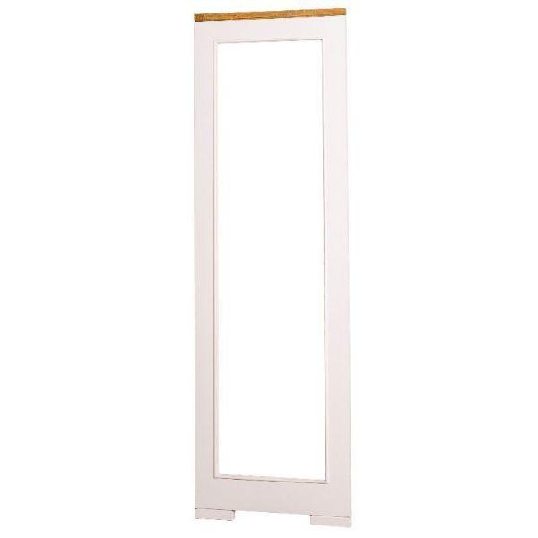 Oglindă înaltă 60 x 197 cm alb antichizat/stejar Pure