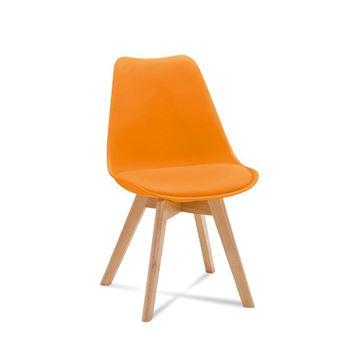 Scaun portocaliu Fiord