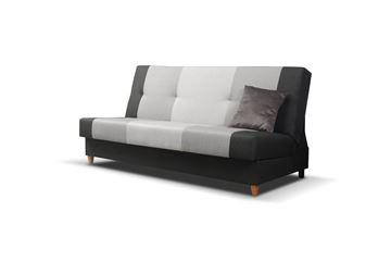 Canapea extensibilă 3 locuri antracit Twist