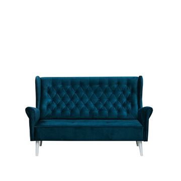 Canapea 3 locuri albastru închis Carmen