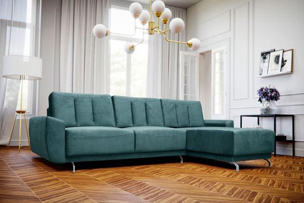 Colțar extensibil interschimbabil verde mentă Massimo
