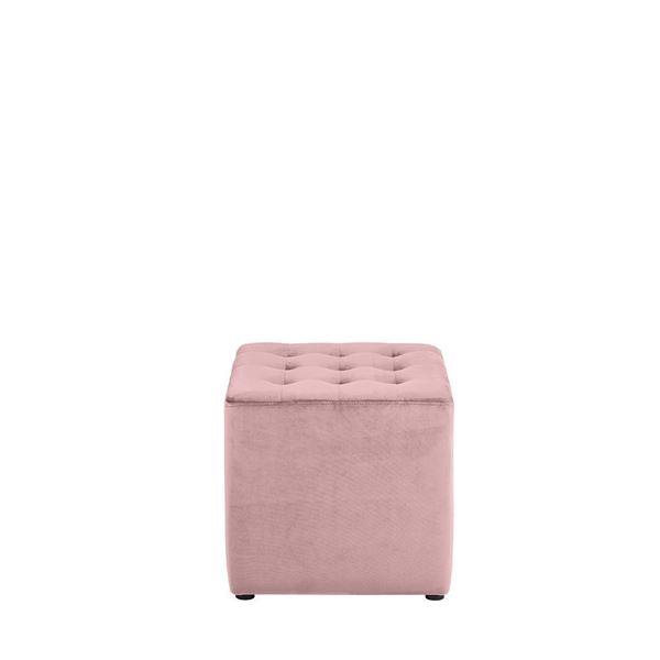 Taburet roz deschis Bryan