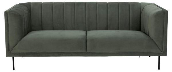 Canapea fixa 3 locuri verde olive Pasadena