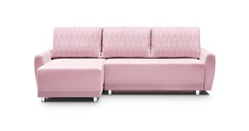 Coltar extensibil interschimbabil roz Rumba